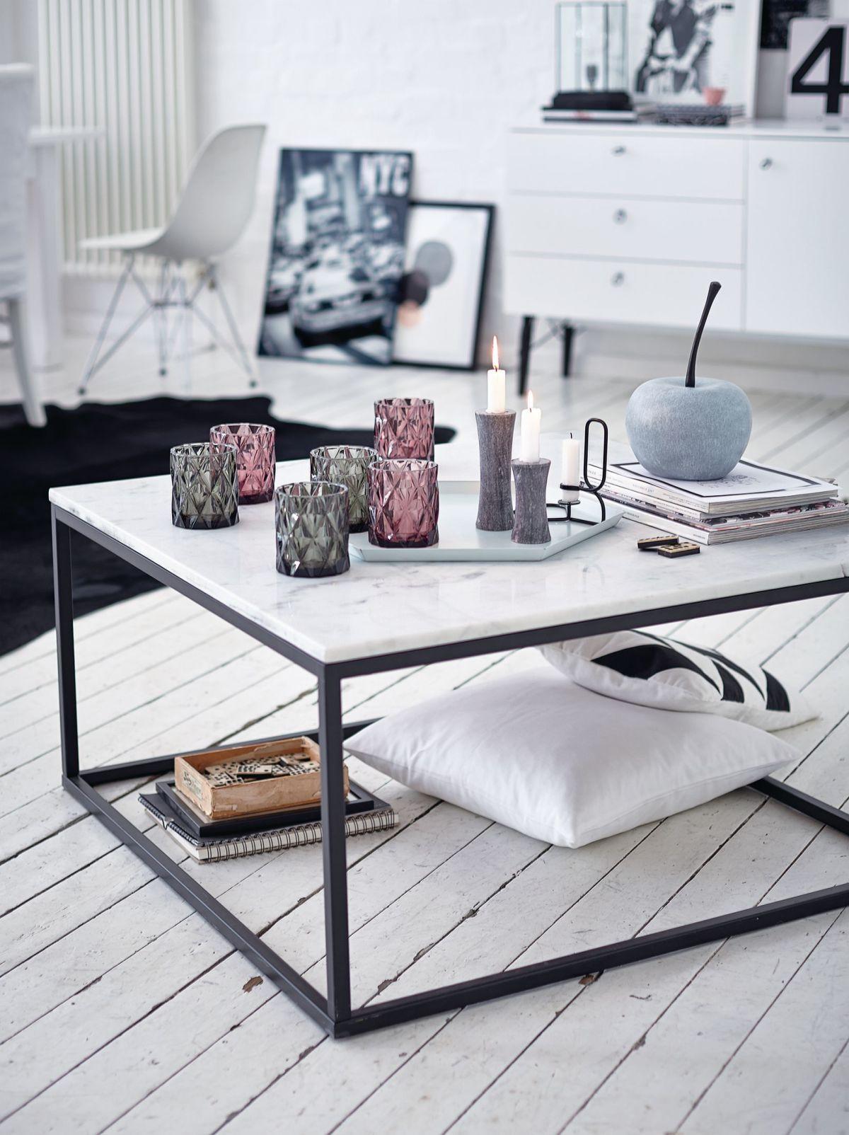 Couchtisch, Quadratisch, Modern, Marmor, Metall | Couchtische | Tische |  Möbel |