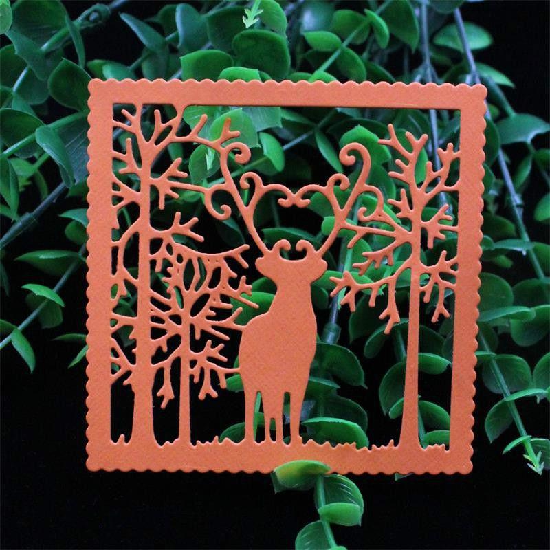 Deer Metal Cutting Die Stencil Scrapbooking DIY Stamp Album Paper Card Embossing