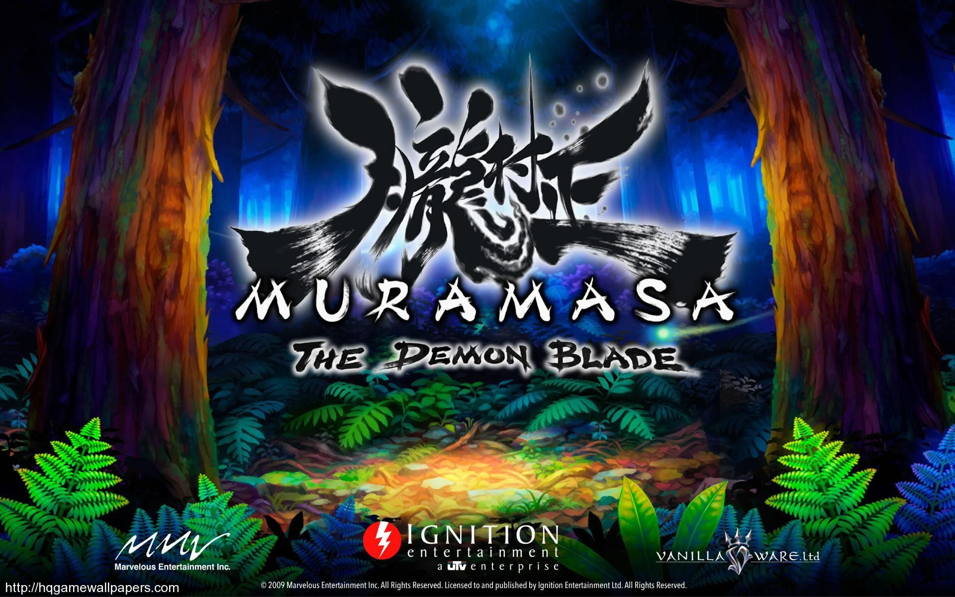Muramasa The Demon Blade Widescreen Wallpaper Muramasa The Demon