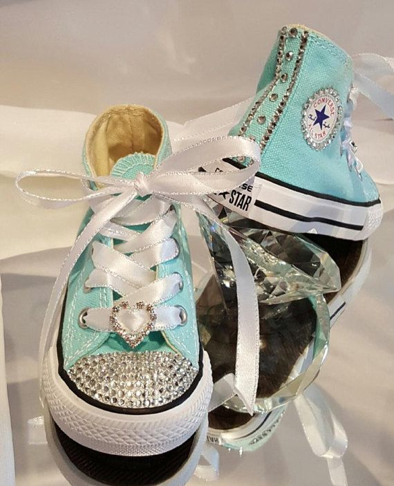 68abca28f69d BLING Converse Kids Bling Converse Rhinestone by SparkLeeCreations ...