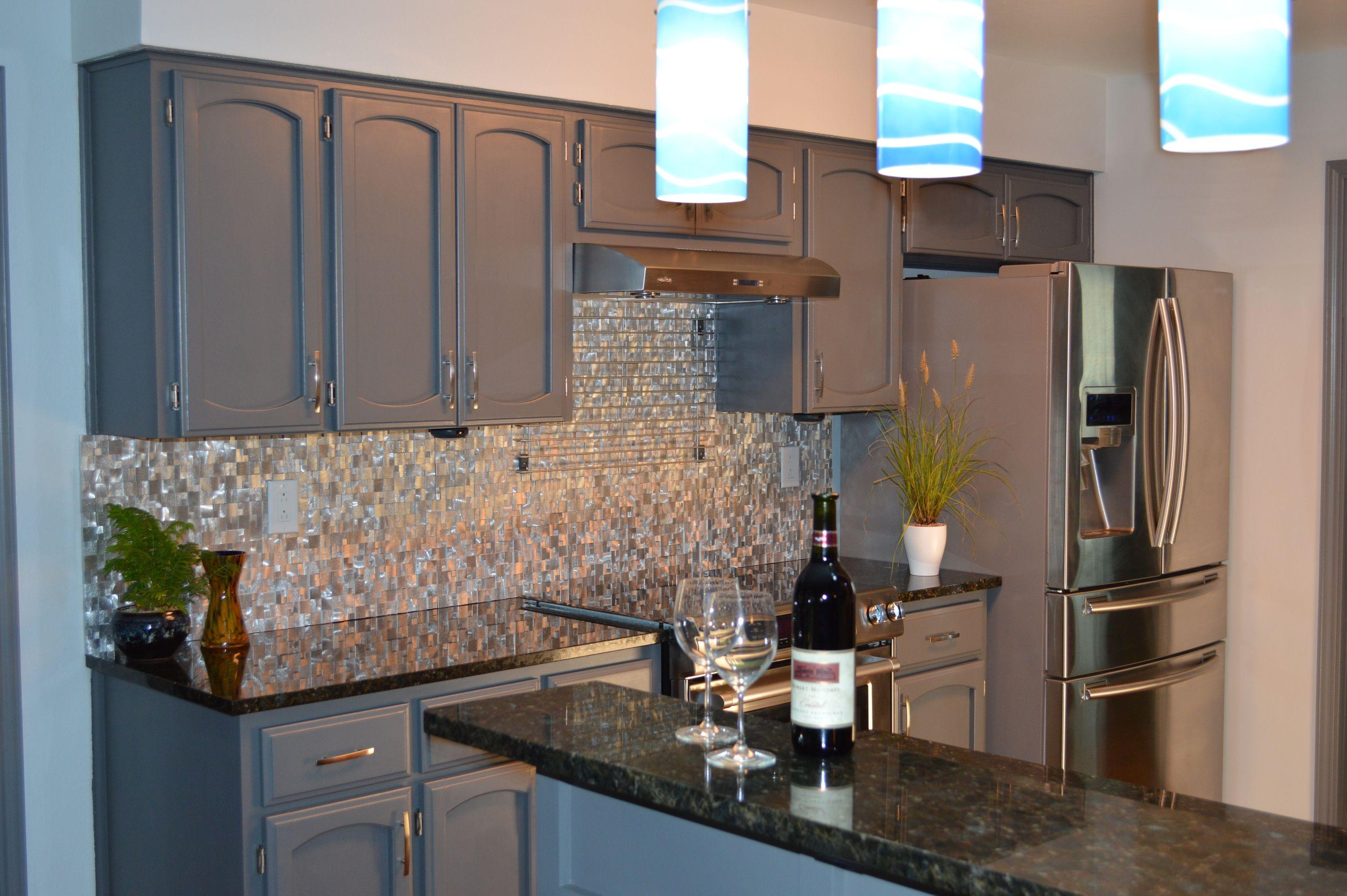 3d raised cobblestone pattern aluminum mosaic tile emt al10 sil