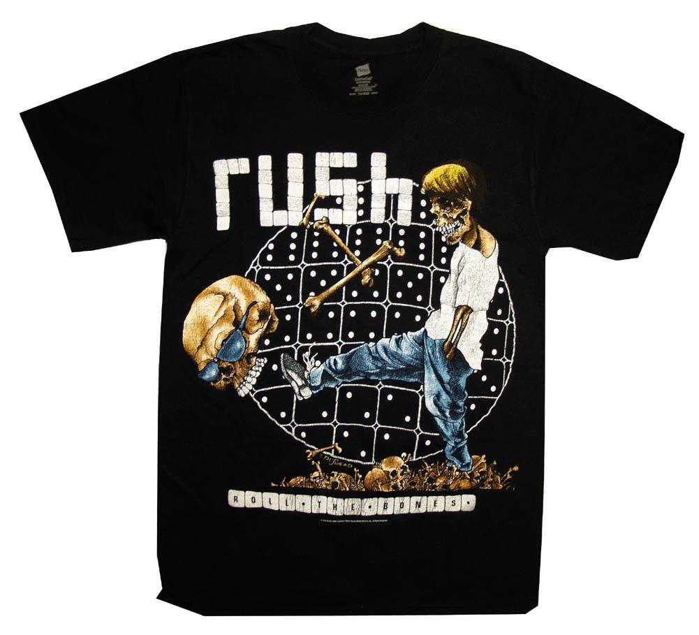 Rush Roll the Bones shirt
