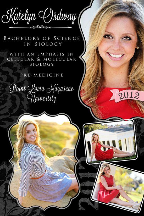 graduation announcement photography college