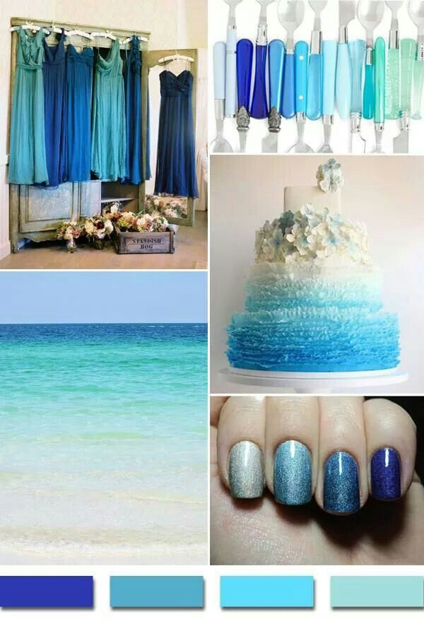 Love the colors in this ombre effect!