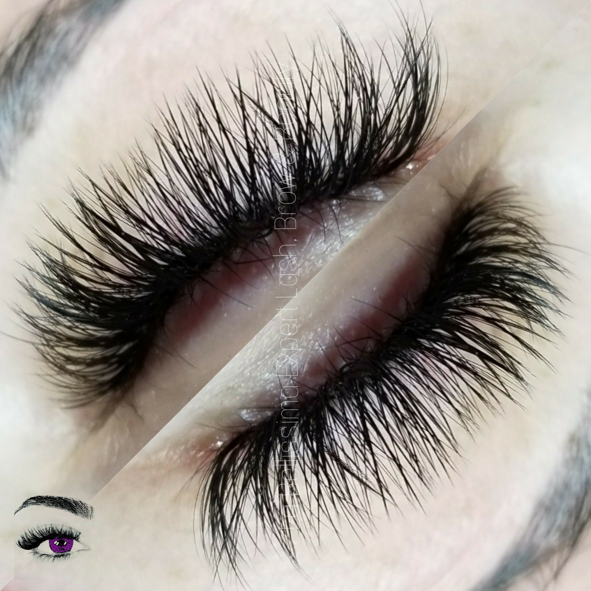 Russian Volume Eyelash Extensions Ooh La La Volumelashes