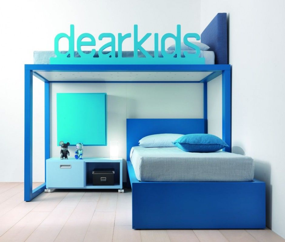 Bedroom Furniture Childrens dearkids_290410_21 » contemporist | quarto de solteiro 3