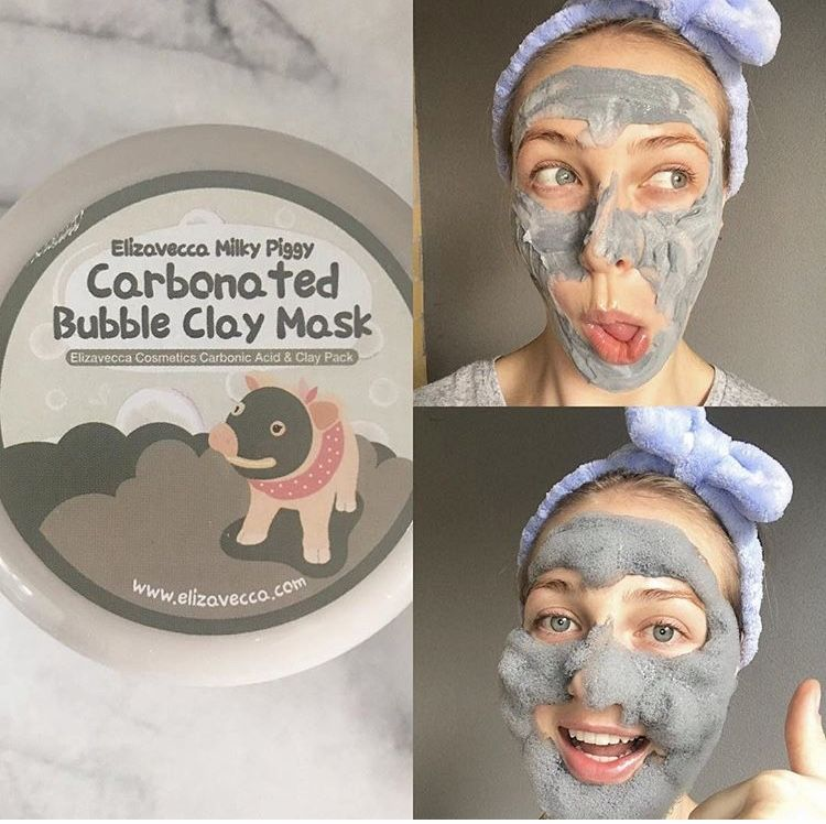 elizavecca bubble clay mask directions