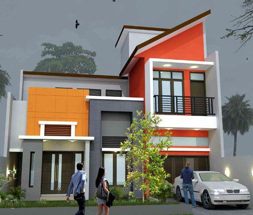 Gambar Warna Cat Rumah Minimalis 2015 House Designs Exterior Exterior Design Home Design Plans