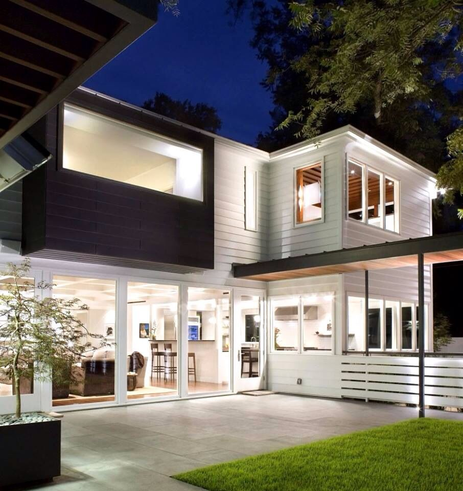 Exterior modern siding window design  love this mix style  architecture  pinterest  mix style and