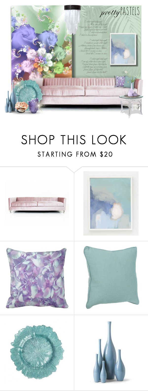 """Pastel Home Decor"" by signaturenails-dstanley ❤ liked on Polyvore featuring interior, interiors, interior design, home, home decor, interior decorating, ModShop, WALL and pasteldecor"