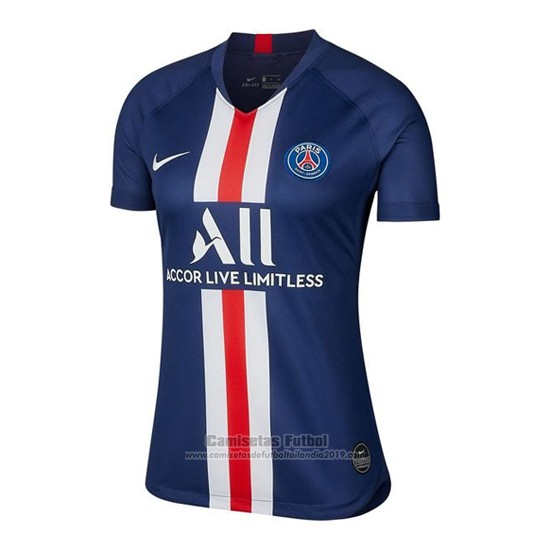Camiseta Paris Saint Germain 1ª Mujer 2019 2020 Paris Saint Germain Saint Germain Paris Saint