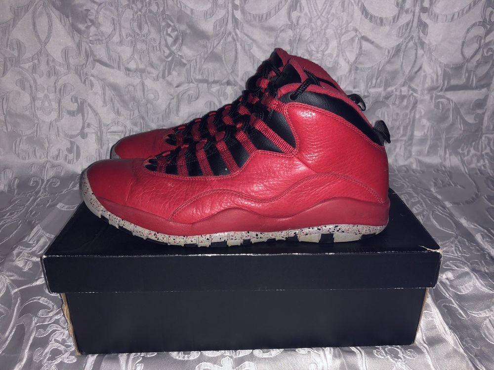 buy online 12ef6 cb31e Air Jordan Retro 10 Bulls Over broadway Size 13  fashion  clothing  shoes   accessories  mensshoes  athleticshoes (ebay link)