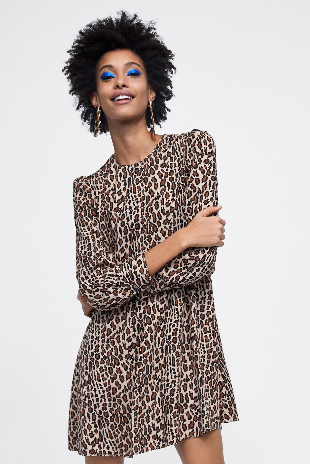 Image 1 Of Animal Print Dress From Zara Animal Print Dresses Fashion Dresses
