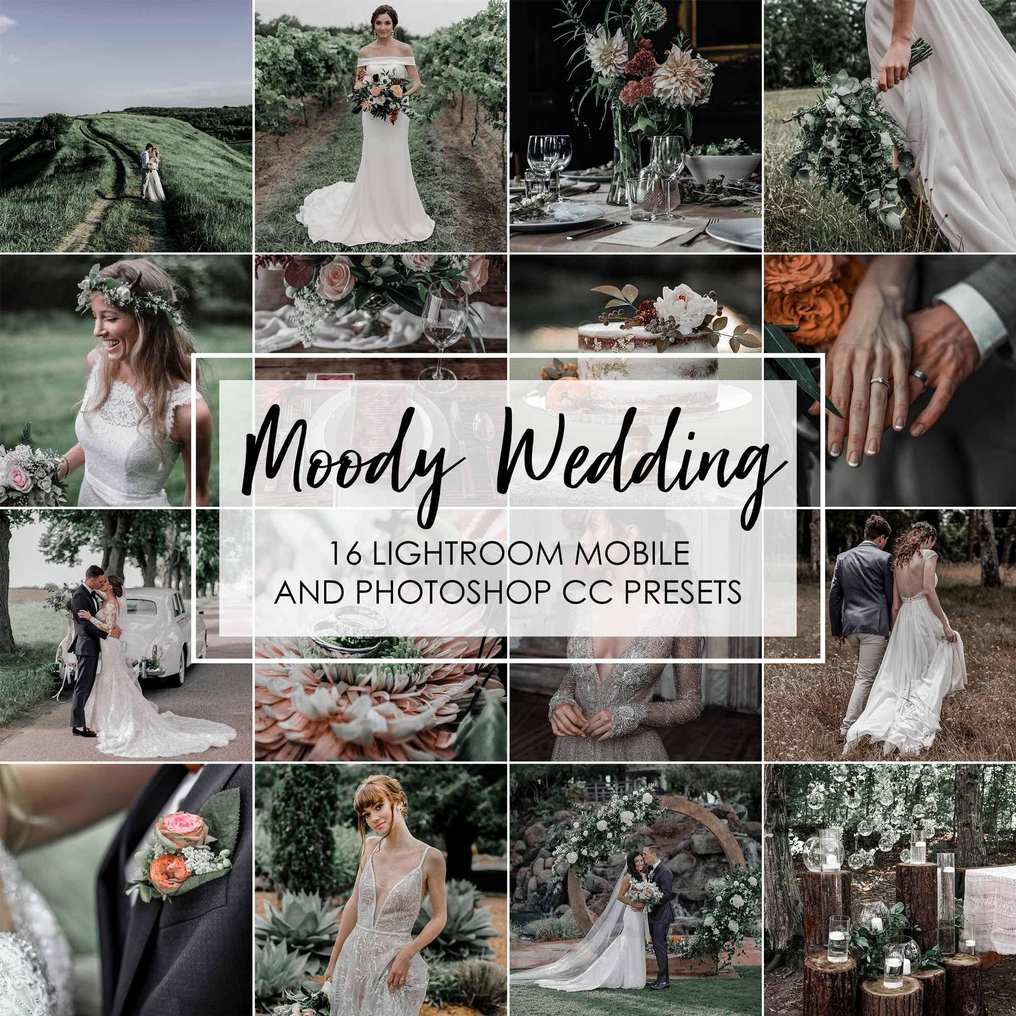 Lightroom Presets 16 Presets Moody Wedding Wedding Presets Moody Presets Bride Presets Wedding Lightroom Presets Dark Moody Presets In 2020 Wedding Presets Lightroom Moody Wedding