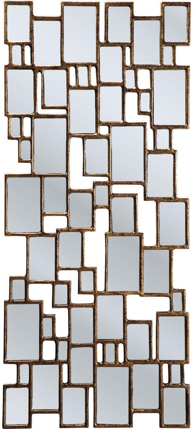 Spiegel Kare Design spiegel cubes 132x54cm koper kare design cube and bureaus