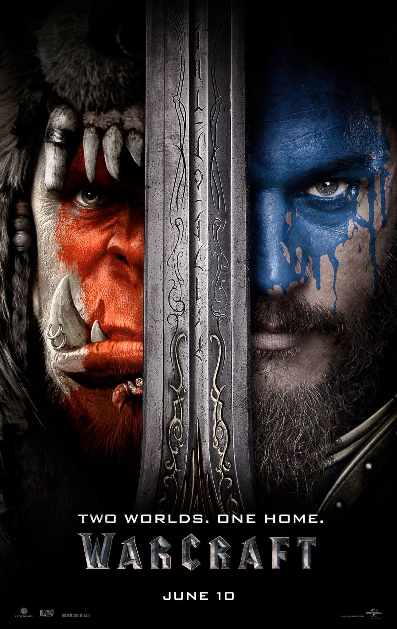 Warcraft Official Movie Poster World Of Warcraft Movie