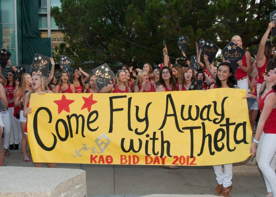 Come fly away with Theta