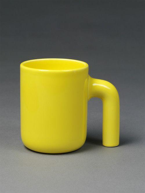 Ole Jensen; Glazed Earthenware Mug for Royal Copenhagen, 1995.