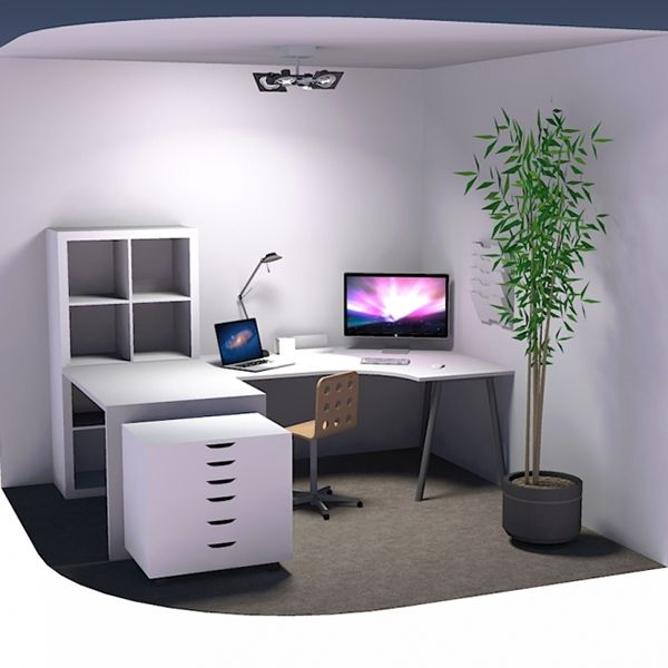 Office Layout Study For 10 X 10 Space On Behance Office Layout Workspace Design Office Design