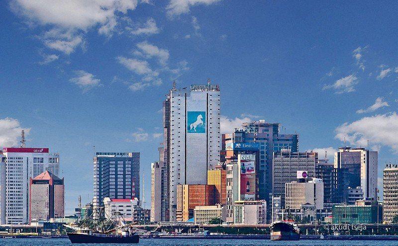 Lagos Cbd Skyline Africa Skyline Corporate Communication