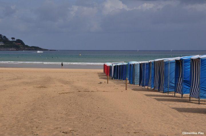 Les plages ensoleillées du pays Basque