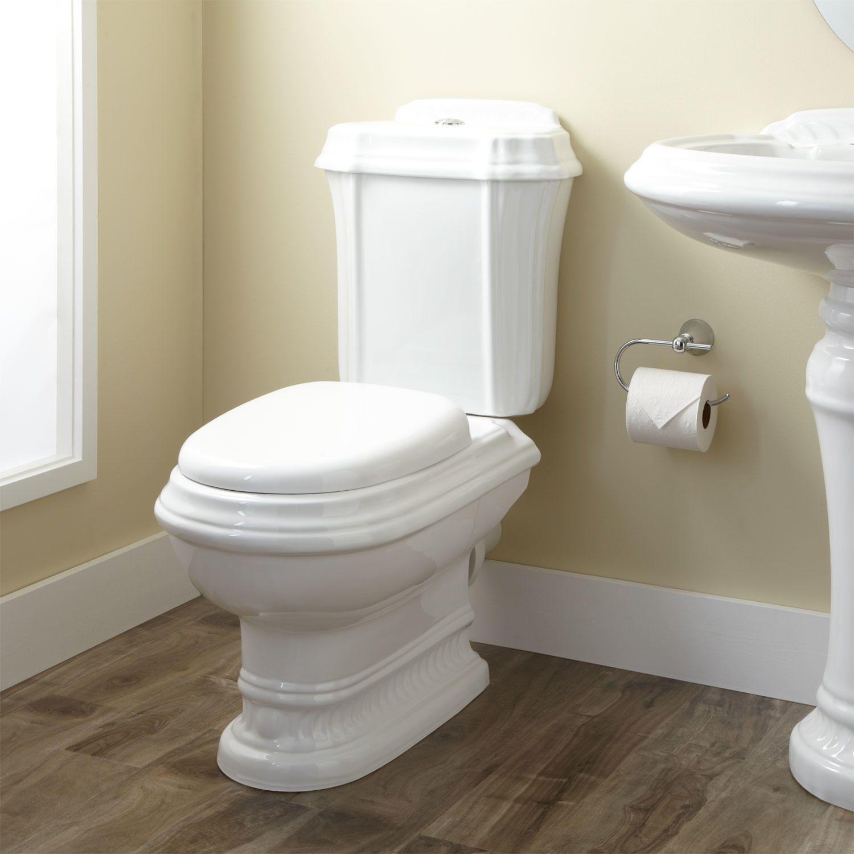 Julian Dual-Flush European REAR OUTLET Toilet - Two-Piece ...