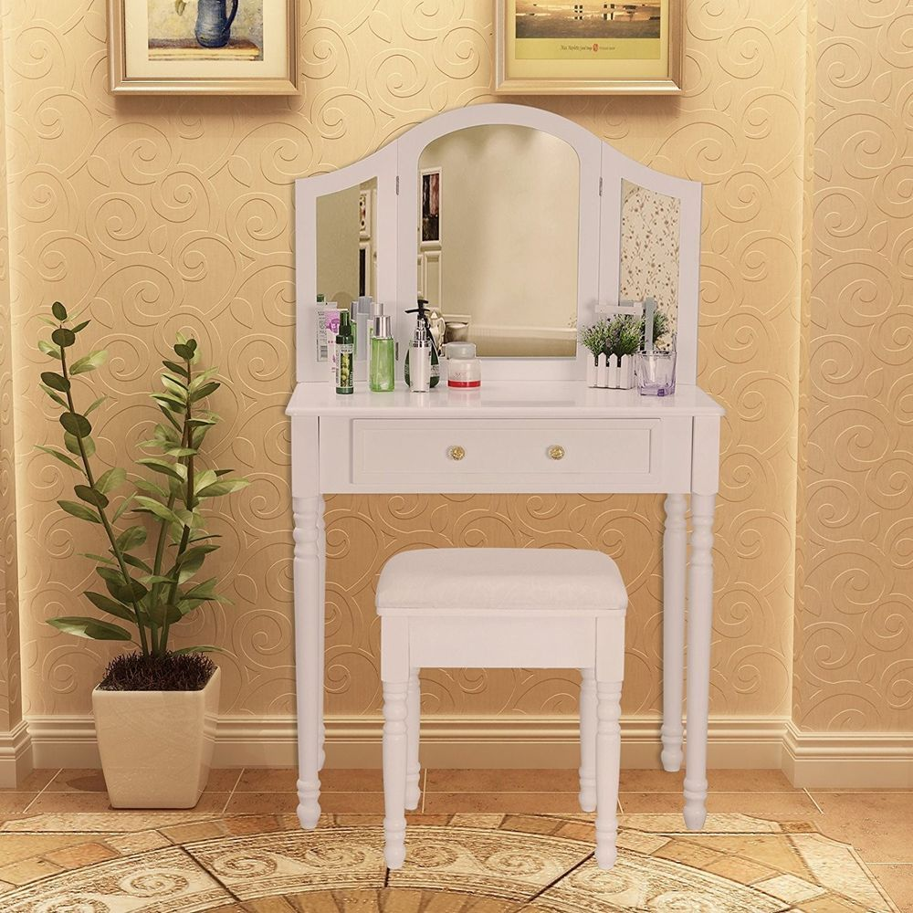ebay bedroom dressing table set shabby chic stool foldable side rh pinterest com bedroom dressing table stool / chair bedroom dressing table stool / chair