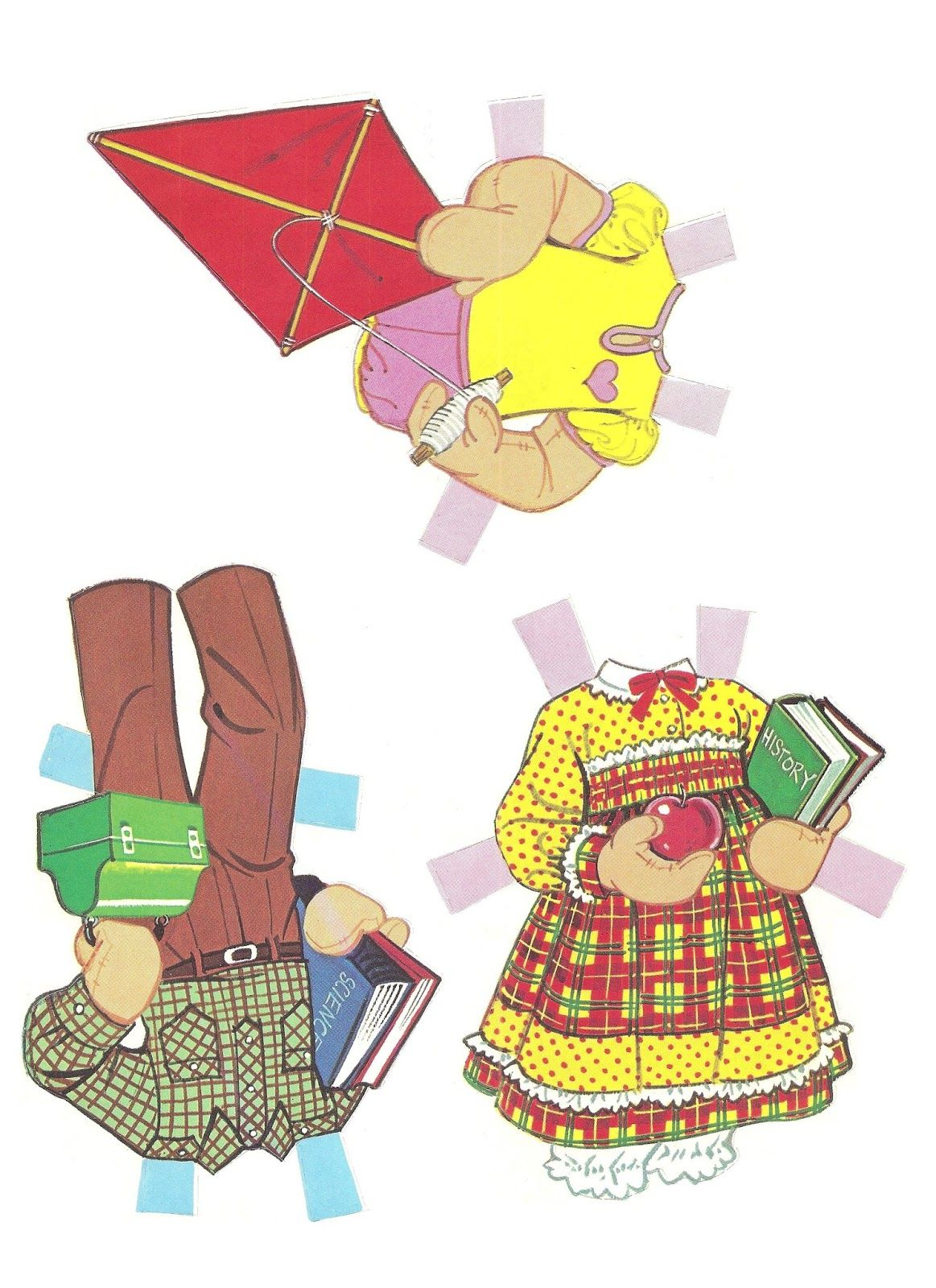 Mostly paper dolls too raggedy ann and andy paper dolls