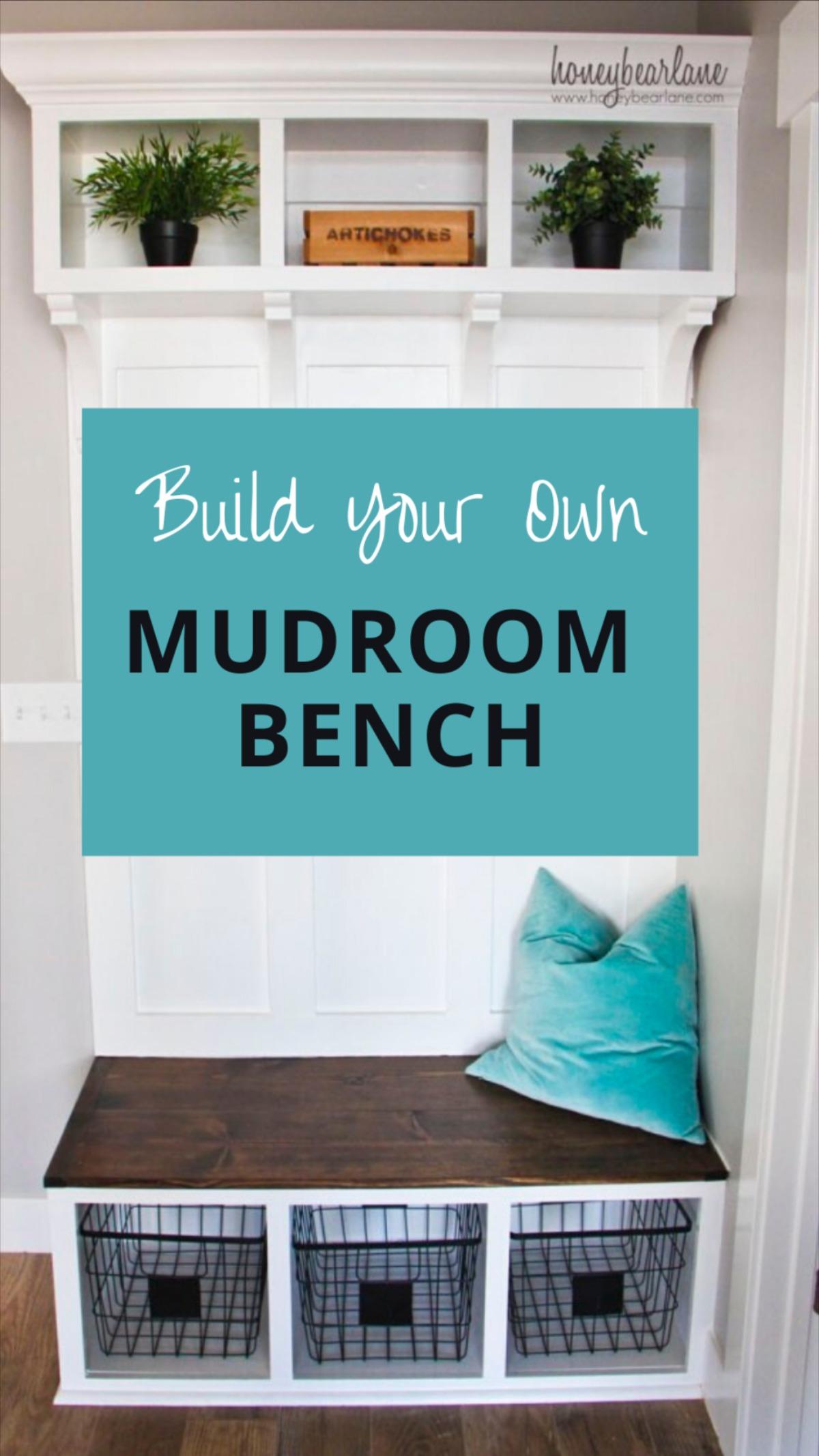 Mudroom Ideas Entryway. Build Your Own Mudroom Bench