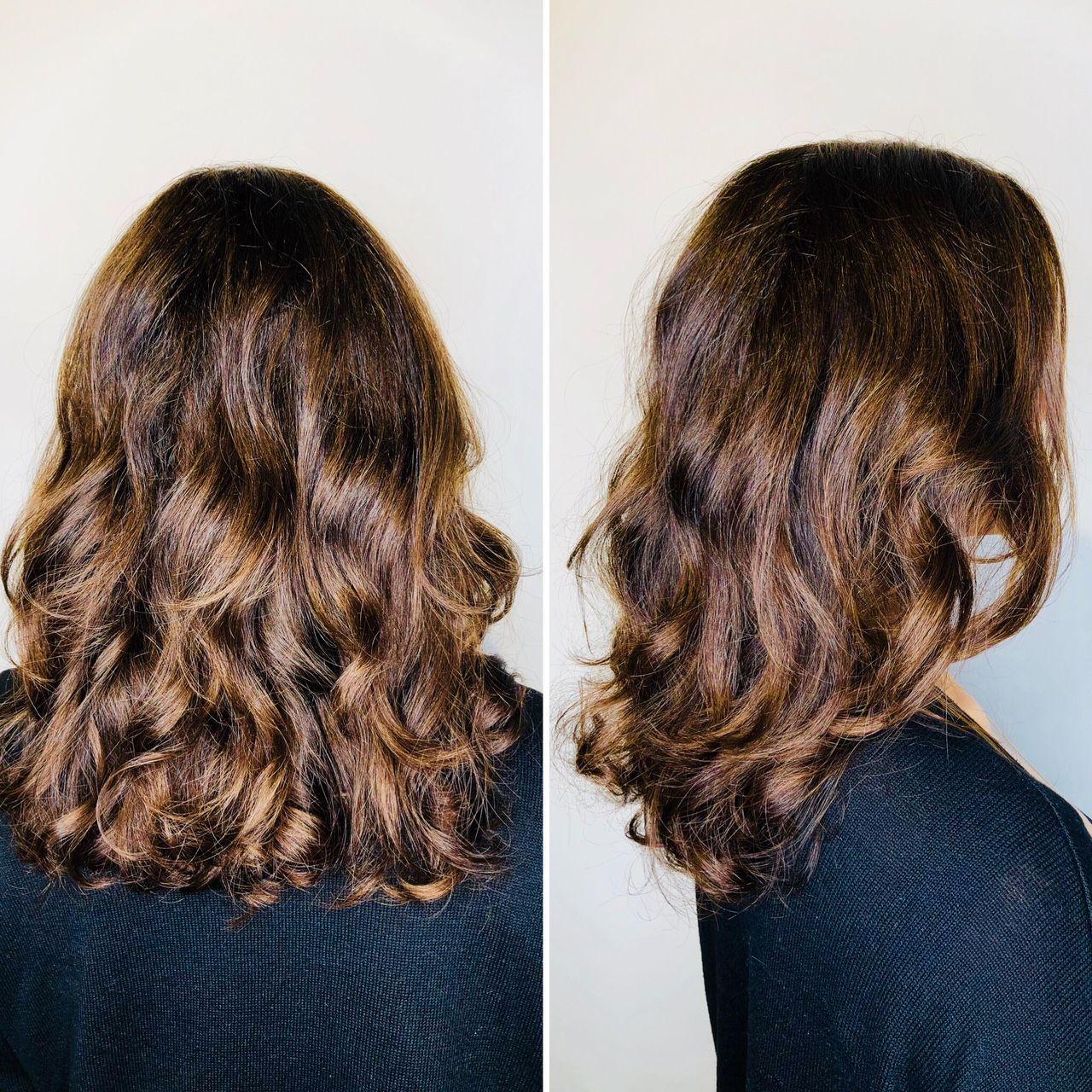 Best Digital Perm Salon In Melbourne Blog Japanese Hair Salon Art Noise Digital Perm Curled Hairstyles For Medium Hair Permed Hairstyles