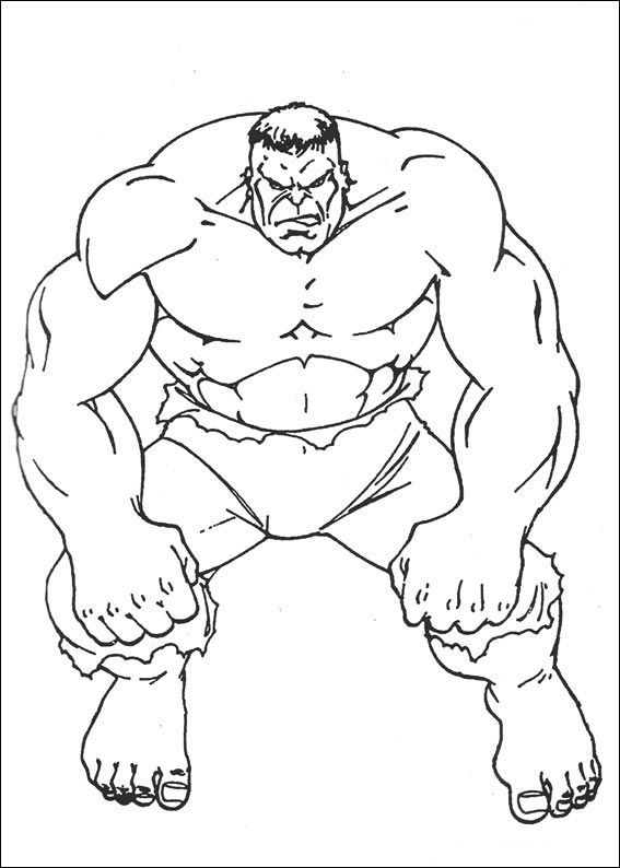 Hulk Looked At The Enemy Coloring Pages For Kids Fzw Printable Hulk Coloring Pages For Ki Superhero Coloring Pages Avengers Coloring Avengers Coloring Pages