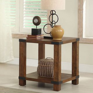 Furniture Of America Royce Modern End Table