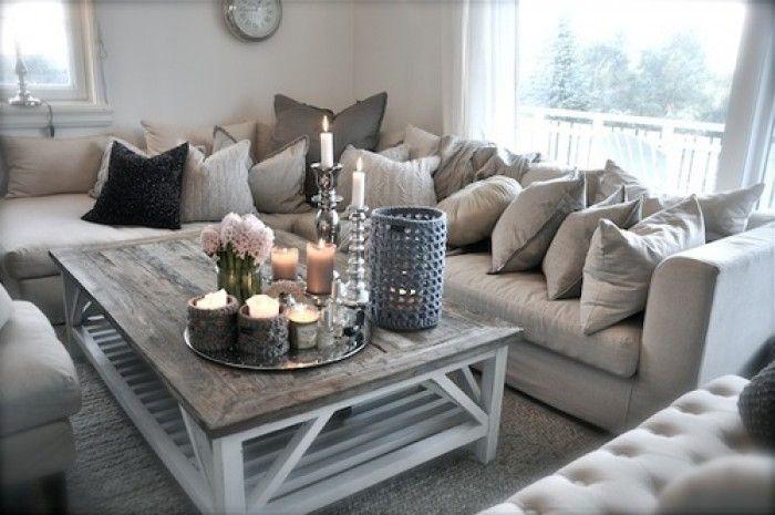 woonkamer stijl landelijk | Woonkamer en eetkamer | Pinterest ...