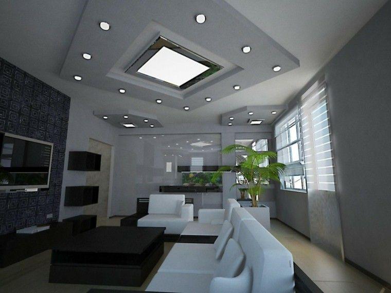 Iluminación led - 75 ideas increíbles para el hogar Salons