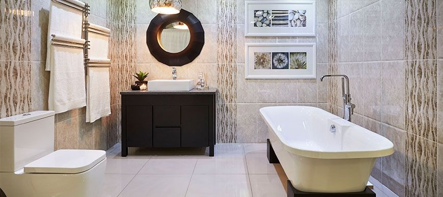 Lifestyle 5 bathroom bizarre get the look pinterest for Bathroom bazzar