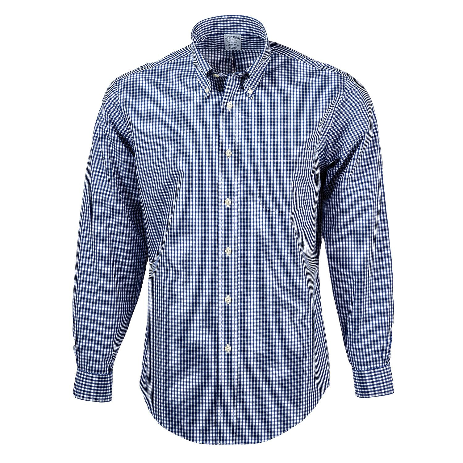 e73fac2d4656d9 Brooks Brothers BR0731 - Men's Madison Fit Non-Iron Gingham Sport Shirt  #brooksbrothers #mensworkshirt #corporateevents