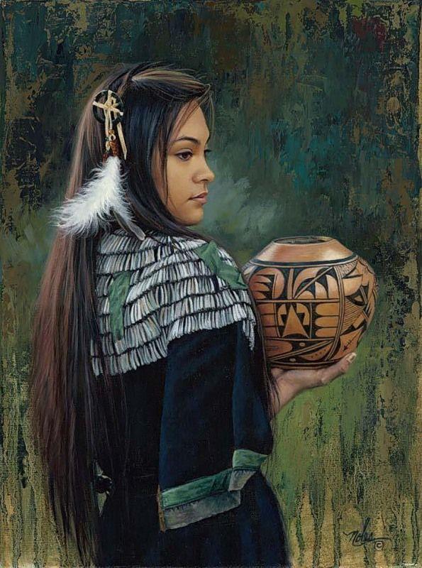Karen Noles + 1947 + - + + nativo americano + cuadros + - + Tutt'Art @ + (17)
