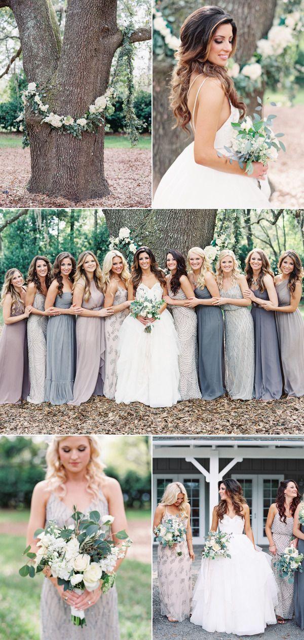 Elegant Rustic Wedding Bridesmaid Dresses