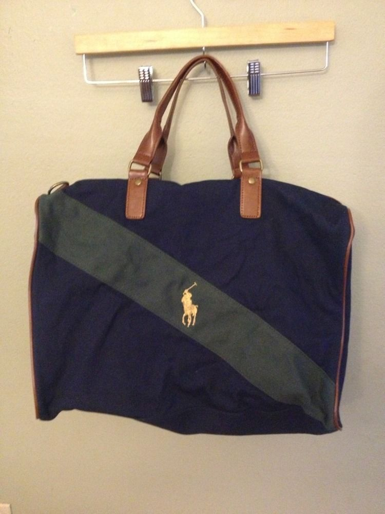 ... free shipping polo ralph lauren pony travel overnight weekender gym  duffle bag no strap ralphlaurenpolo overnightbag c36db765a3a50