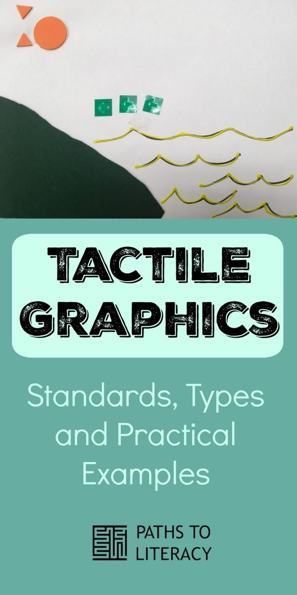 Tactile Graphics Standards Types And Practical Examples