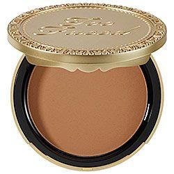 Sephora: Too Faced : Milk Chocolate Soleil Light/Medium Matte Bronzer  : bronzer-makeup