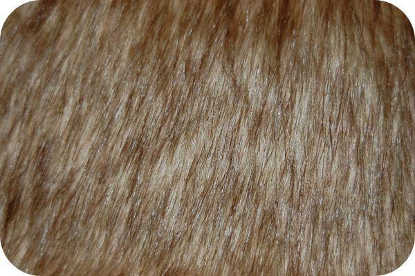 Tip Dyed Fox Fur Gold