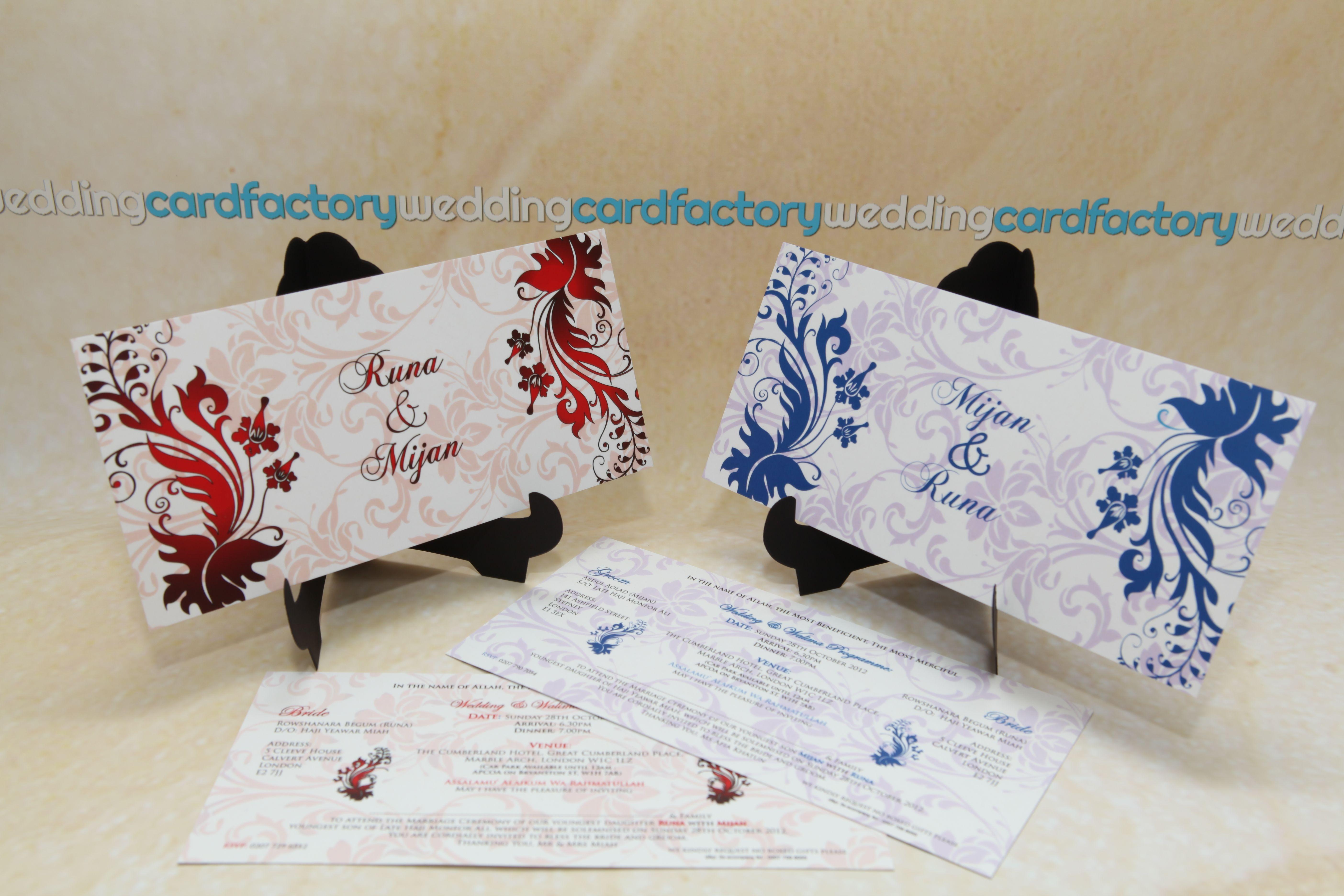 Wedding Cards Manchester, Oldham | Custom Designed Wedding Cards ...