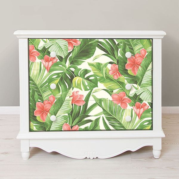 Tropical Paradise Peel And Stick Wallpaper Tropical Interior Tropical Home Decor Tropical Decor