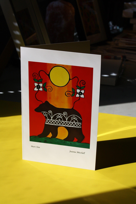 Quality Art Card - Bear Clan