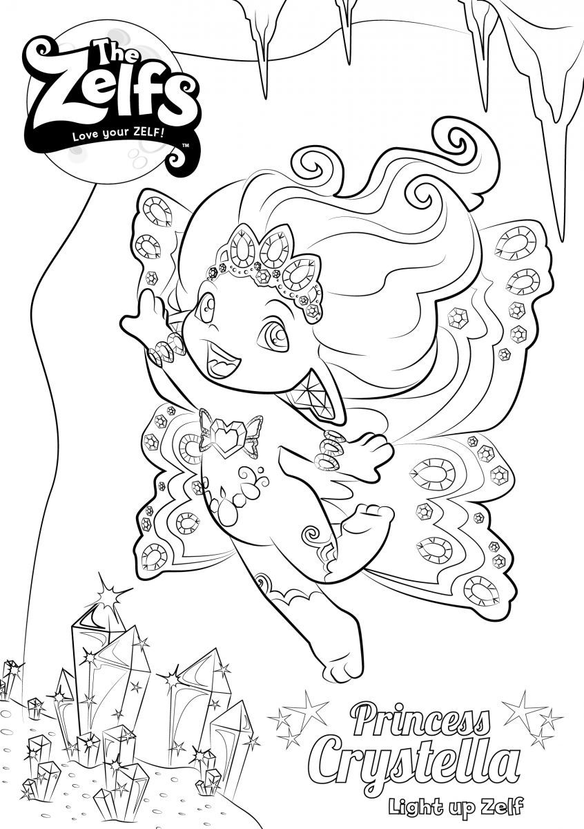 zelf coloring pages to print - photo#26