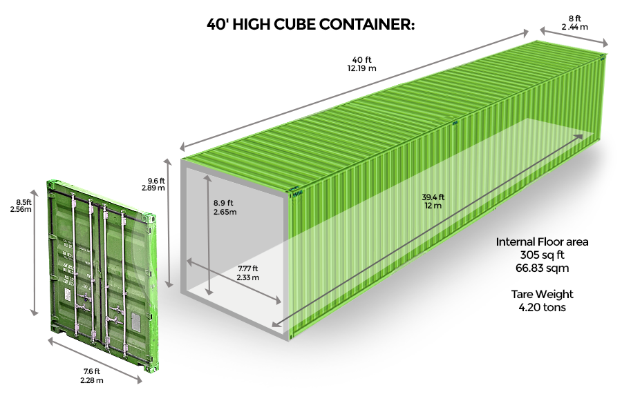 40 High Cube Br Container Shipping Container Container Architecture Container House