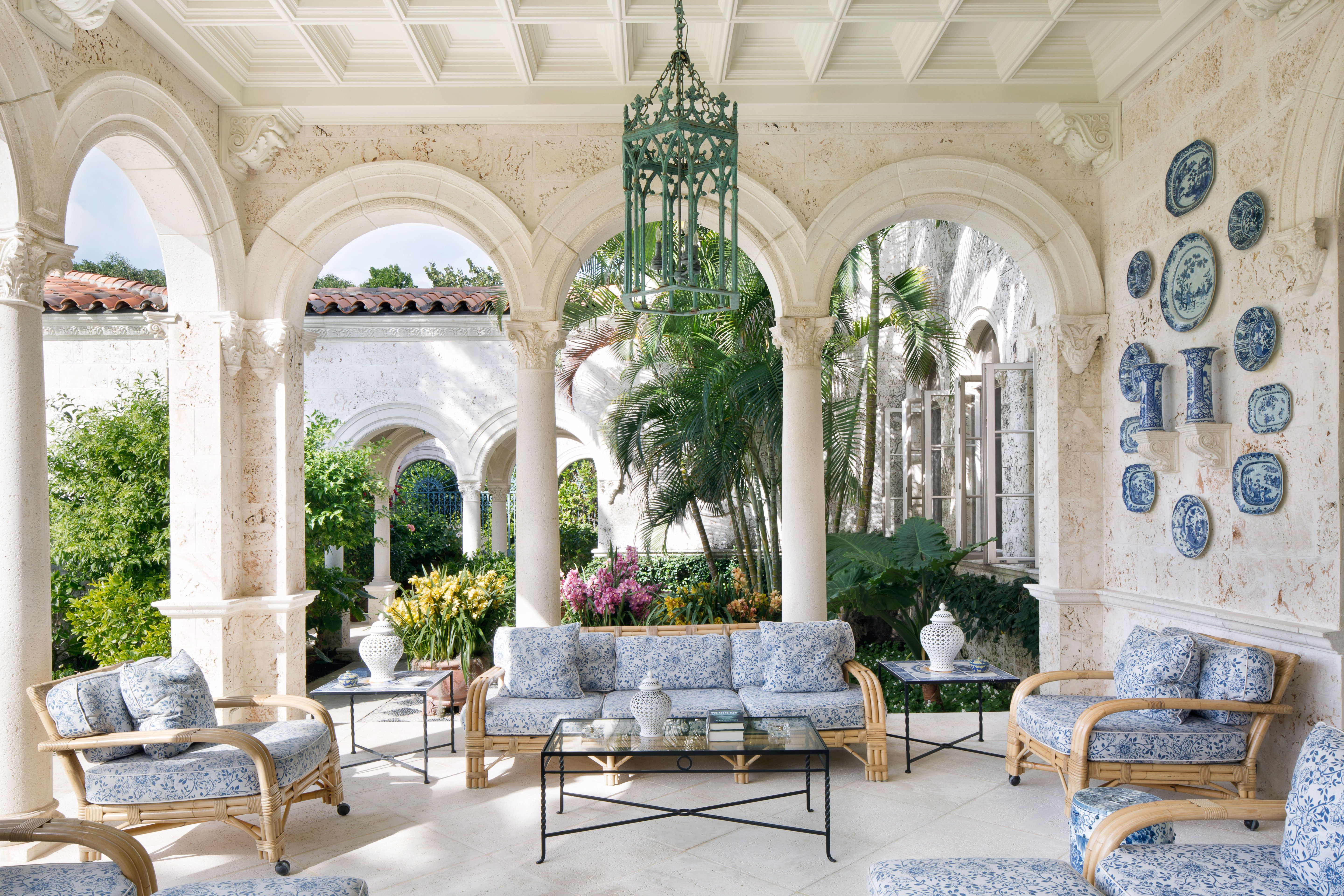 Decor Inspiration Palm Beach Chic Photos  Architectural Digest