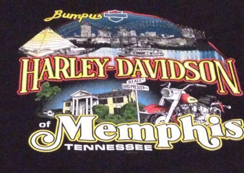 harley davidson memphis tennessee 2xl tee t shirt xxl | memphis