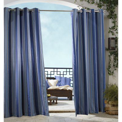 Commonwealth Outdoor Decor Gazebo Curtain Panel 31605008056